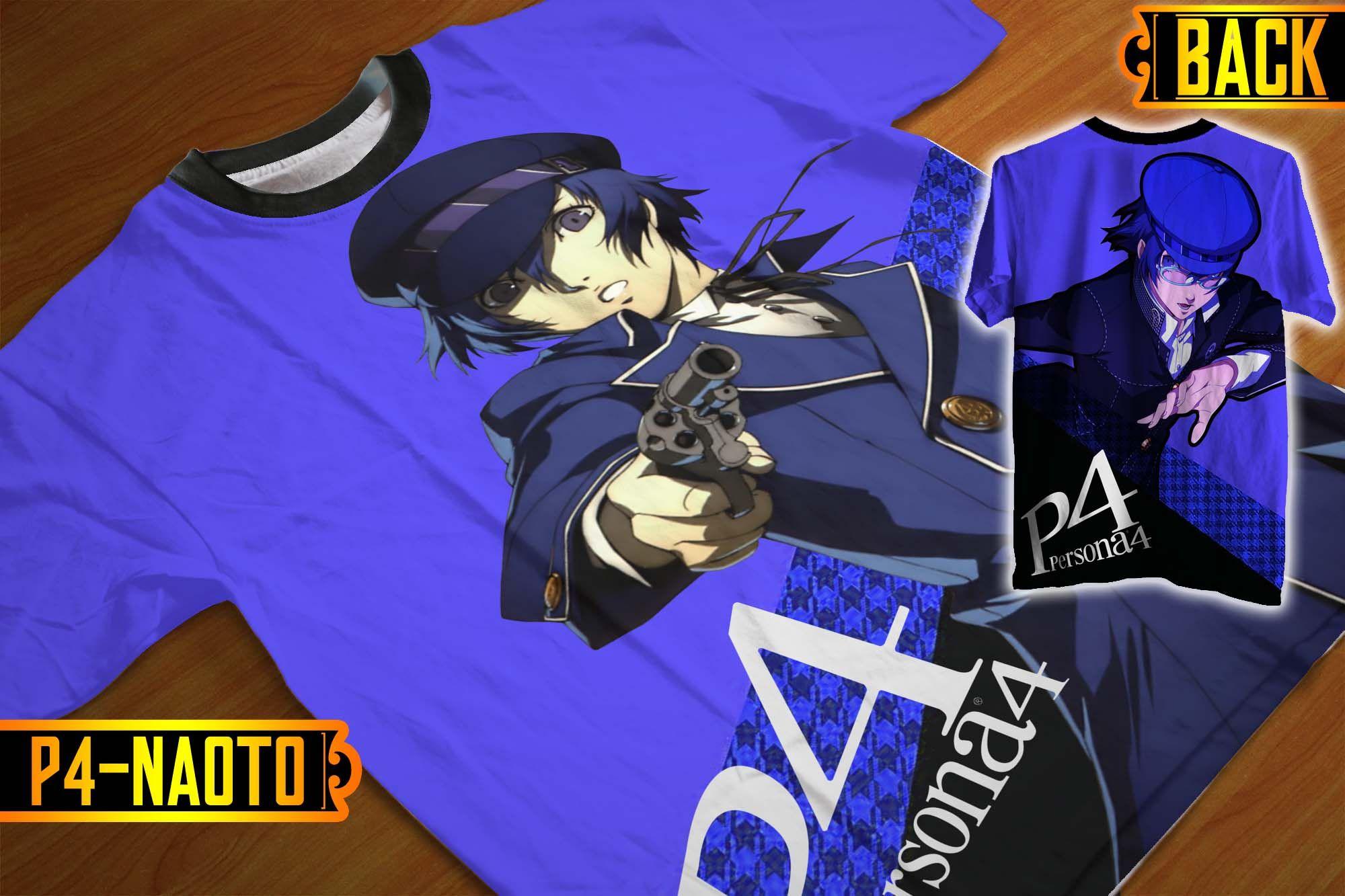 Jual [ANIME/GAME] Tshirt/Kaos Fullprint Persona 4