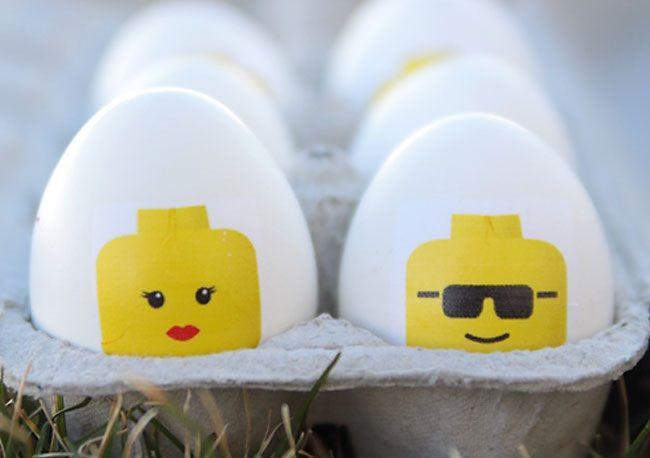 Cabeças de Lego!