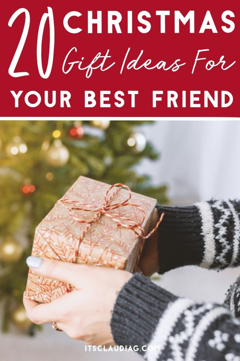 The Best Christmas Gift Ideas For Your Best Friend Best Christmas Gifts Creative Christmas Gifts Christmas Fun