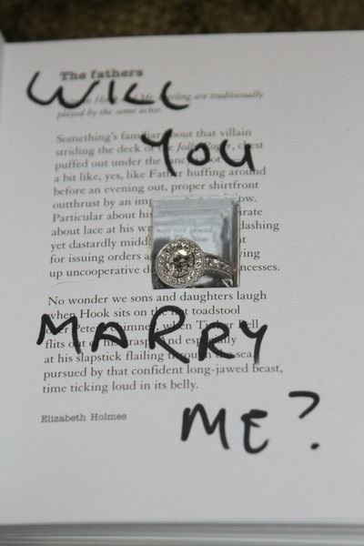 Super Cute Way To Propose Hollowed Out Book 3 For The Future