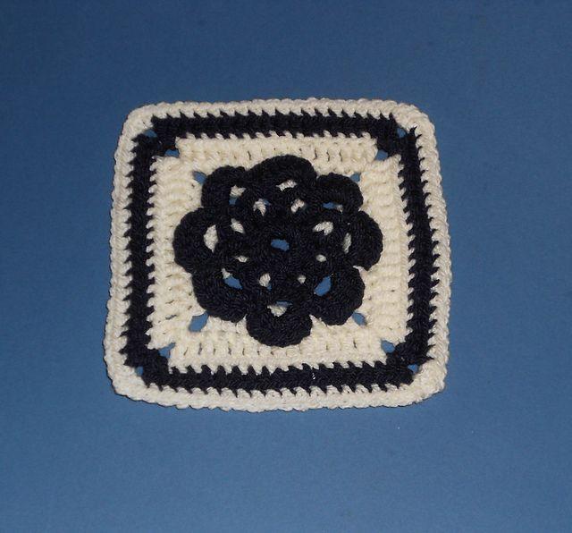 Ravelry: Highland Rose Granny Square pattern by K. Ferguson ...