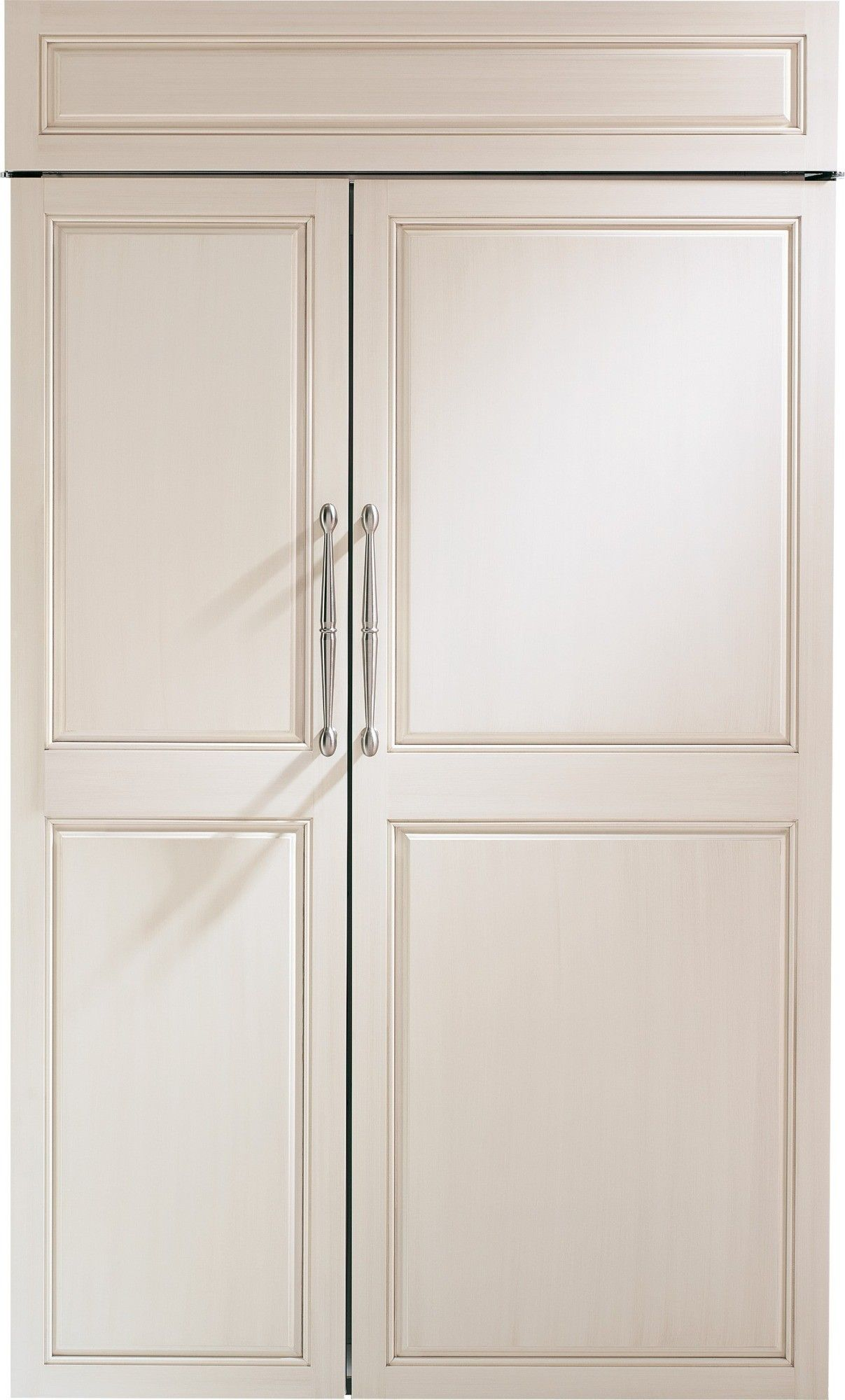 Monogram Zis480nk 48 Built In Refrigerator With Wifi Connect Custom Panel Ready
