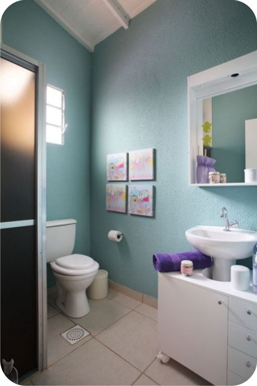 banheiromarcelorosenbaum2jpg (512×768)  Bath  Pinterest  Simple and Search -> Banheiros Simples Pintados