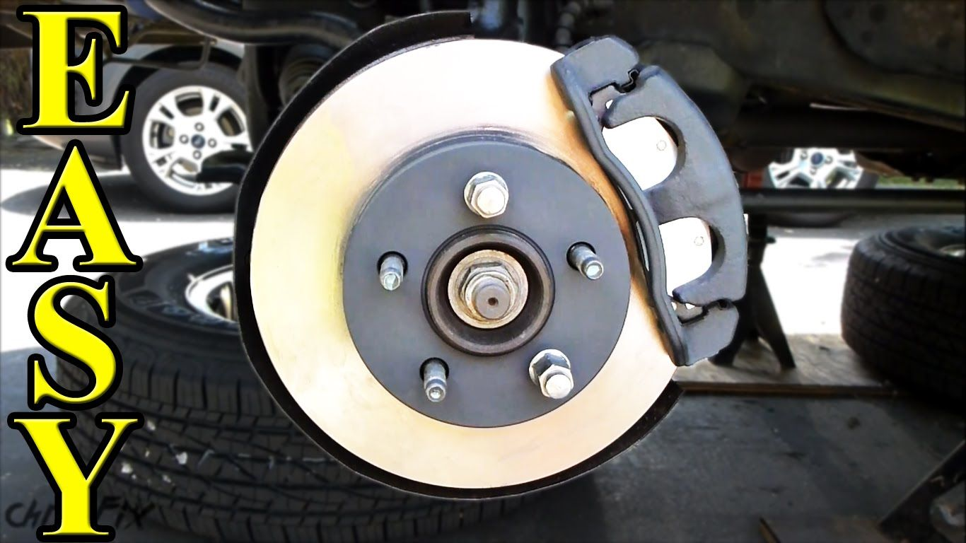 Brakes And Rotors >> How To Replace Front Brakes Pads And Rotors Handy Vehicle