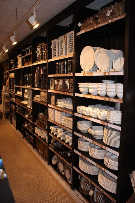 Inside Rm Shop Interiors Shop Interior Design Kitchen Supply Store
