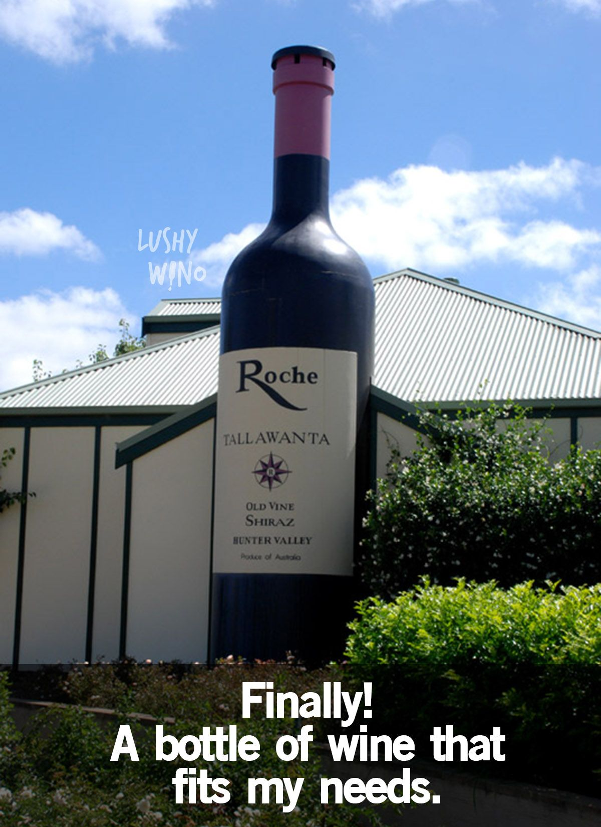 Funny Wine Jokes Big Wine Bottles Australia Tourist Attractions Large Wine Bottle