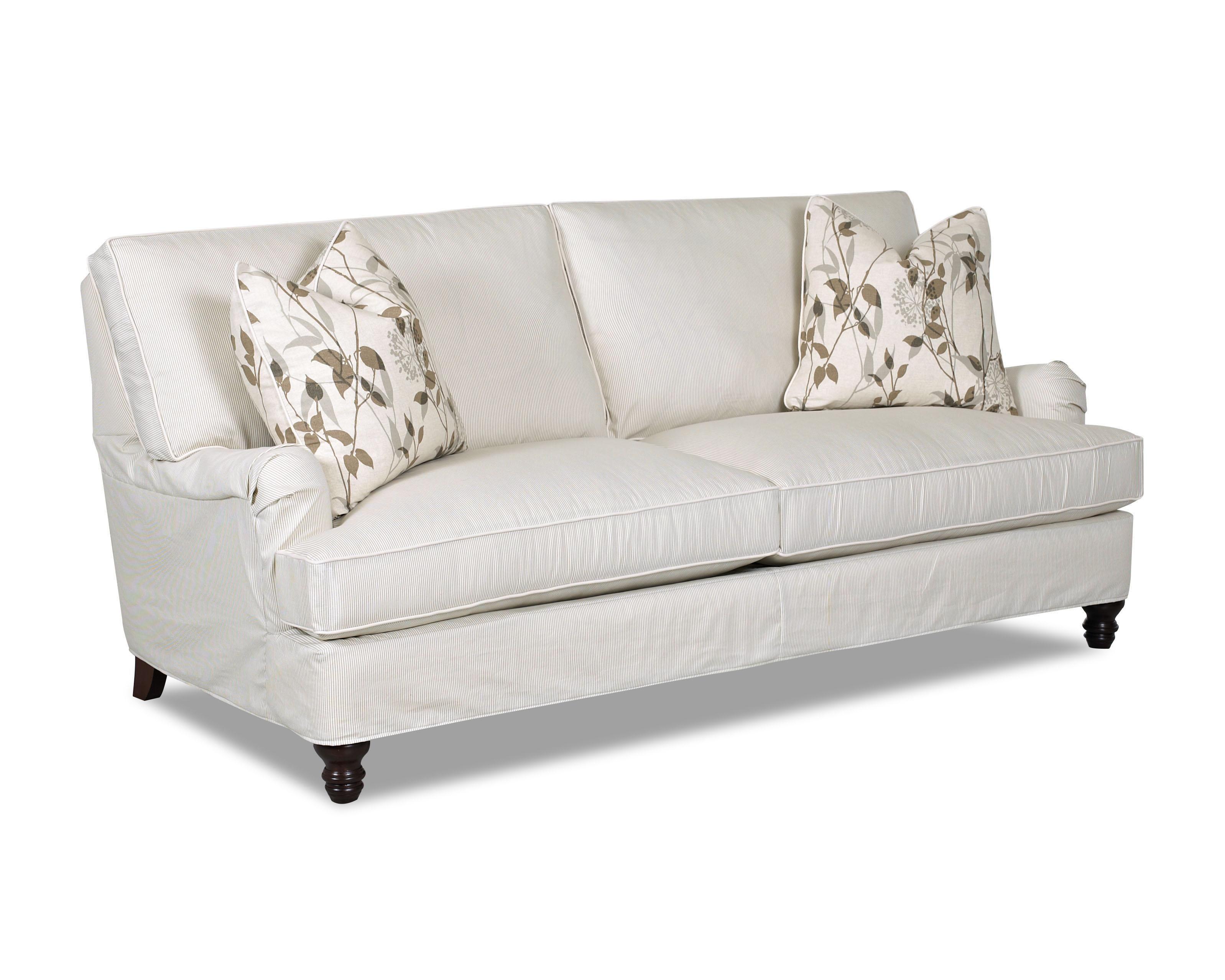 loewy sofa by klaussner baltimore pinterest simple elegance