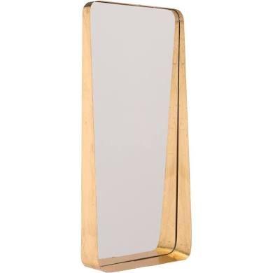 Zuo Modern Contemporary Rectangular Gold Ledge Mirror ...