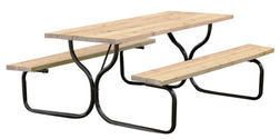 Backyard creations picnic table frame kit from menards 4900 backyard creations picnic table frame kit from menards 4900 watchthetrailerfo