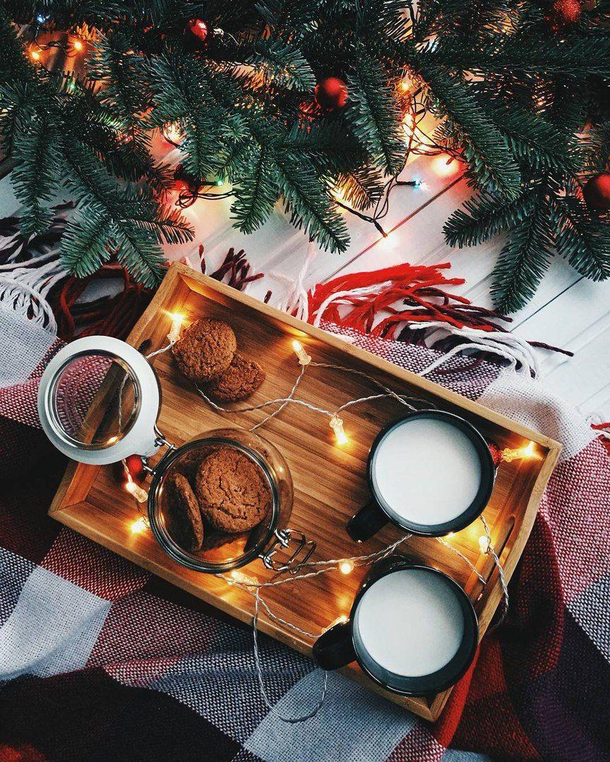 Christmas Mood Aesthetic Inspiration Light Snow Winter