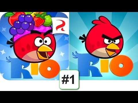 Angry Birds Rio Android Gameplay Hd 1 With Images Tech Logos