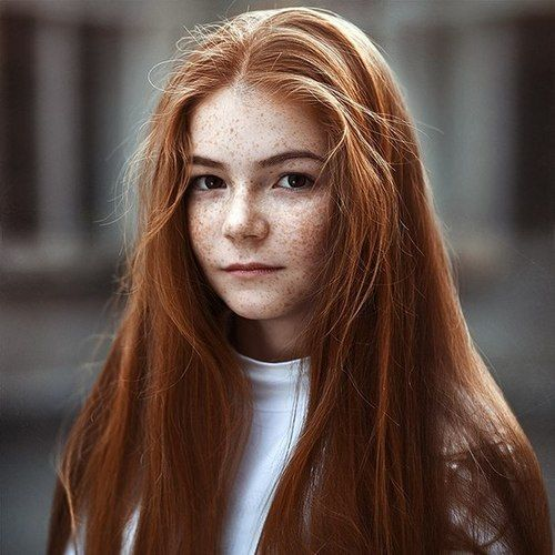 girl with freckles redhead Teen