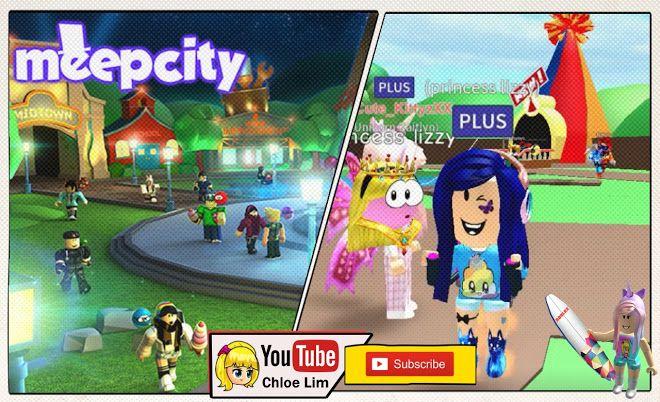 Roblox Meep City Gameplay With Unicorn Kaitlyn Xxcute Kittyzxx