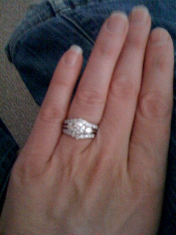Fusing Wedding Band And Engagement Ring