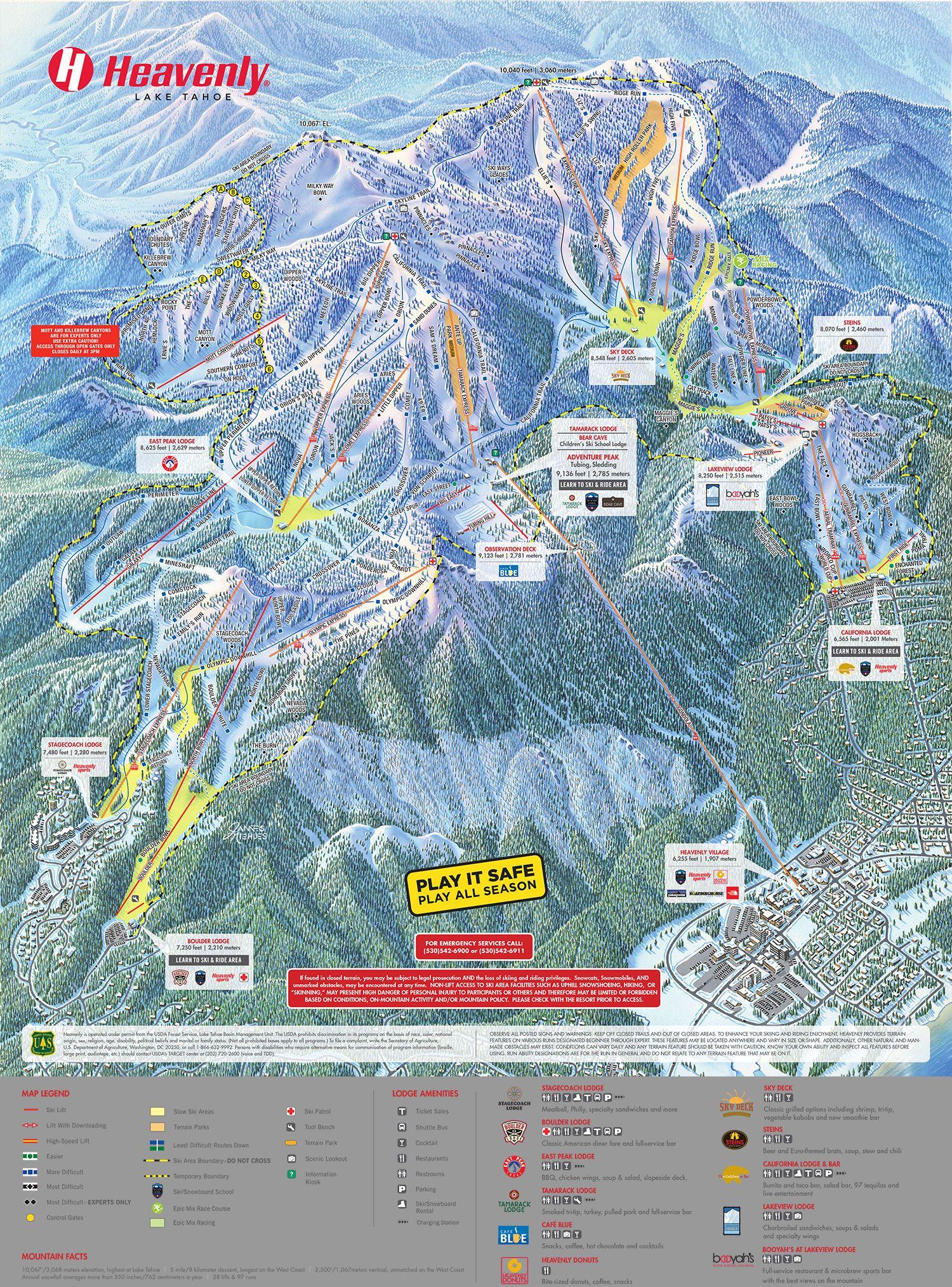 Heavenly ski resort heavenly ski resort ski resort ski