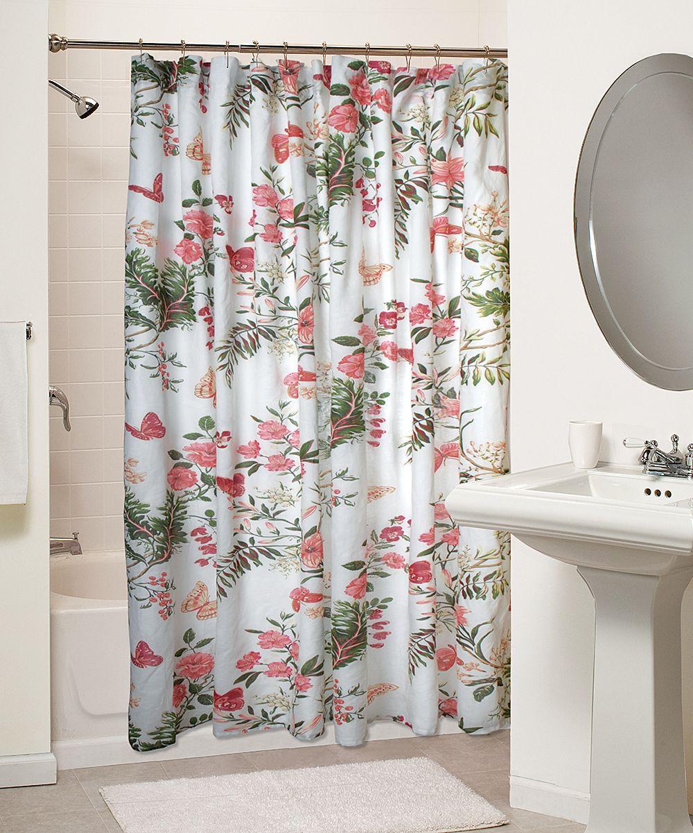 Greenland Home Fashions Butterflies Shower Curtain Zulily