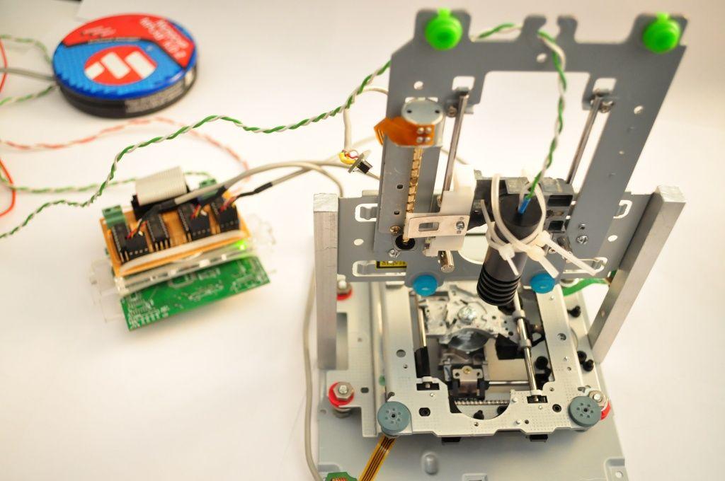 Amateur laser projects