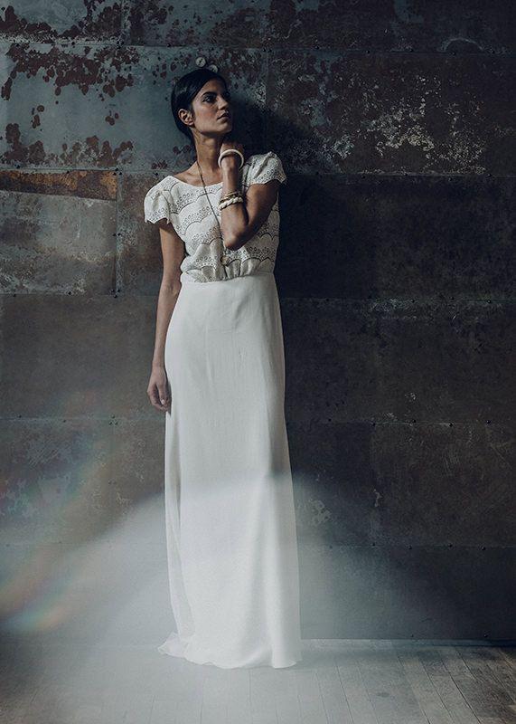 Laure De Sagazan Verlaine Bridal Tips Shoot French Wedding Dress Used