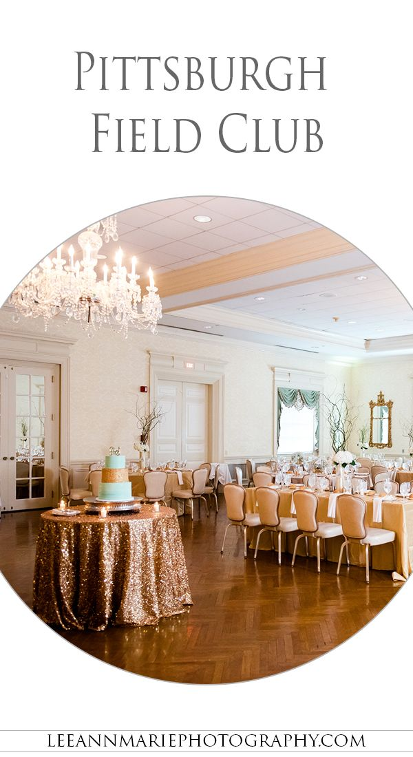 Pittsburgh Field Club Wedding Reception Photography By Leeann Marie Photographers Http