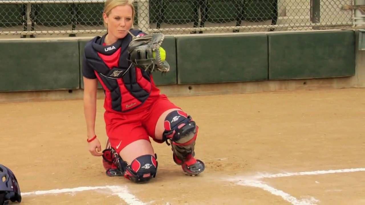 team USA catcher talking about framing | Softball | Pinterest | Team ...