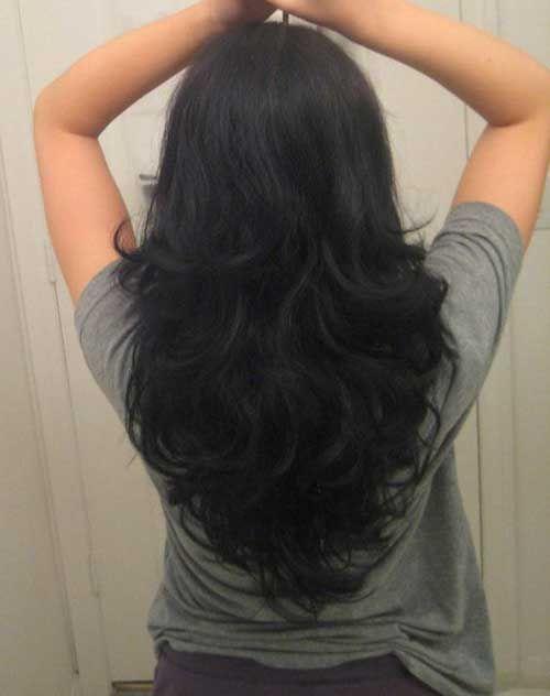 11.V-Form Lange Haarschnitt | Frisuren langhaar ...