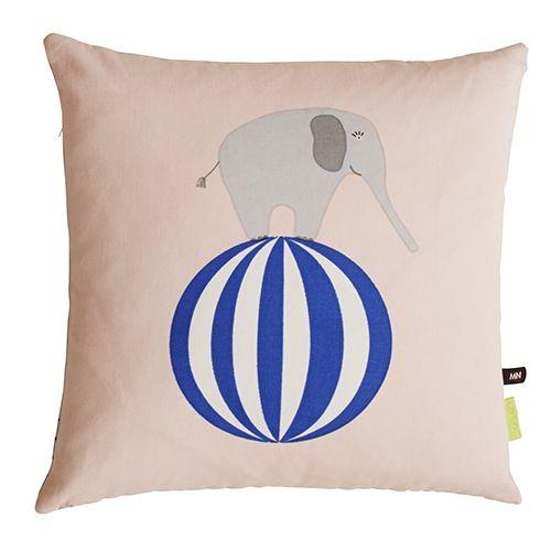 designdelicatessen - OYOY - Elephant cushion - 40x40 - pute - OYOY