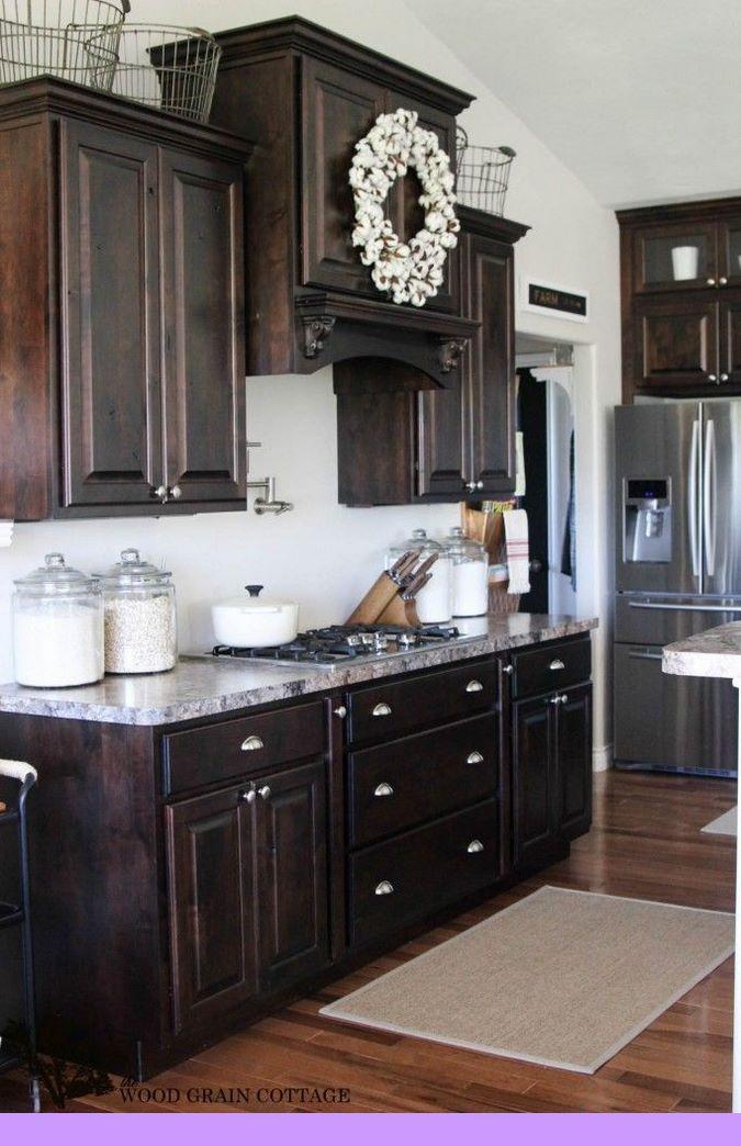 Dark Light Oak Maple Cherry Cabinetry And Wood Kitchen Cabinets Miami Fl Che Beautiful Kitchen Cabinets Dark Wood Kitchen Cabinets Kitchen Cabinets Decor