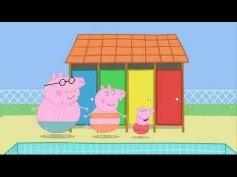 Peppa Petame Gia Diakopes Youtube Peppa Pig Coloring Pages Peppa Pig Peppa Pig Teddy