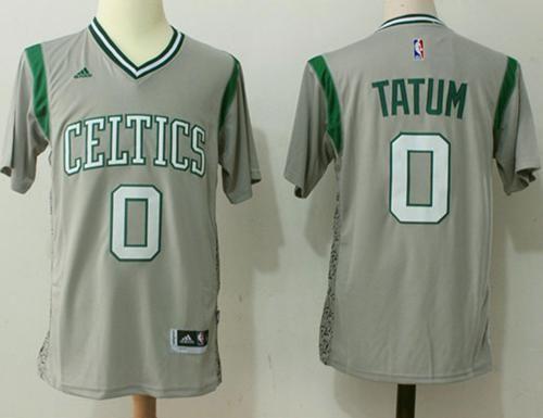 Celtics  0 Jayson Tatum Gray Pride Stitched NBA Jersey   NBA ... 125b180a6e69