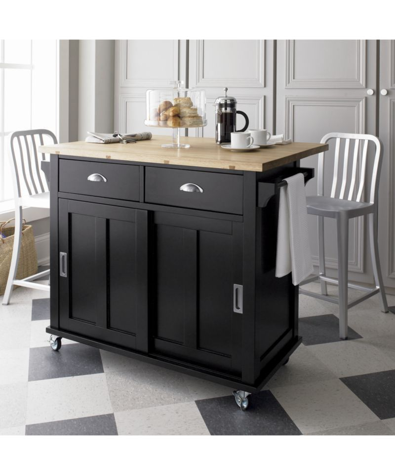 Movable Kitchen Island With Storage And Seating Novocom Top