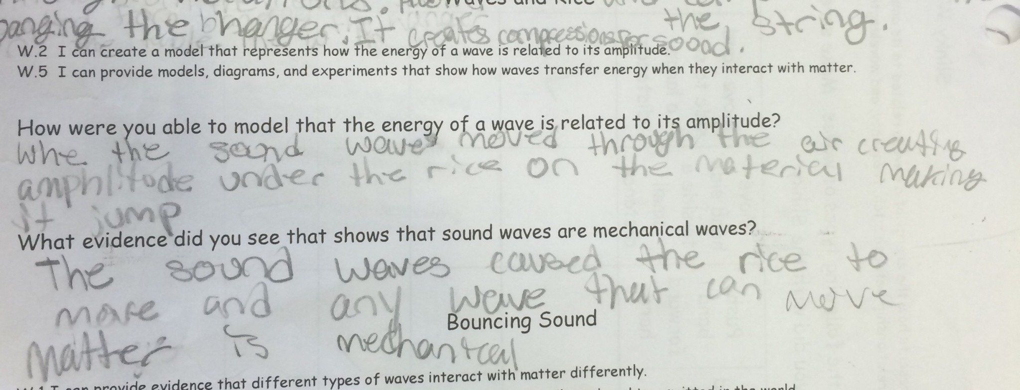Introduction To Waves Worksheet Lesson Wave Behavior Lab