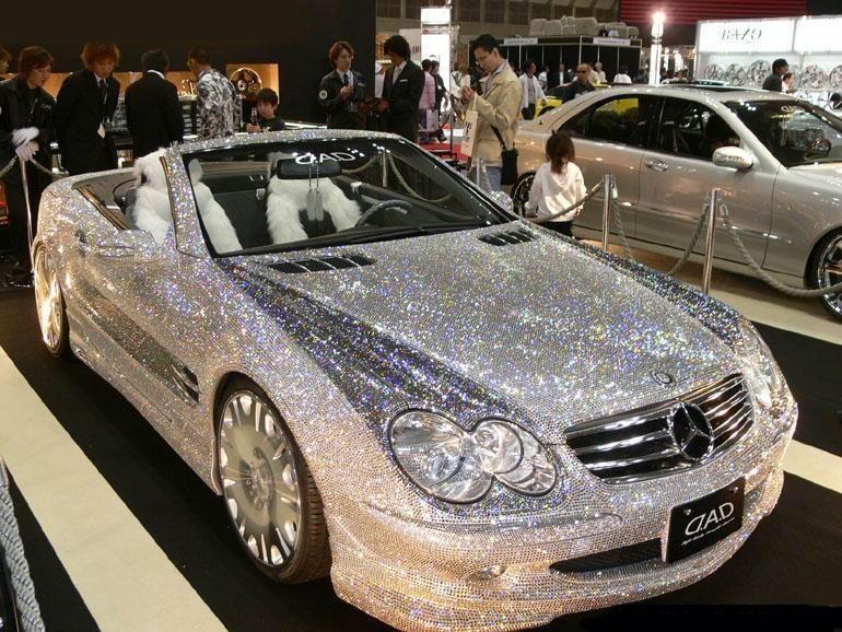 4.8 Million Dollar Diamond Studded Mercedes 1