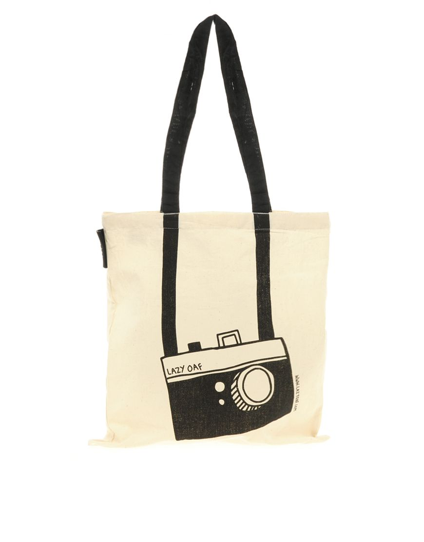 camera tote bag from asos
