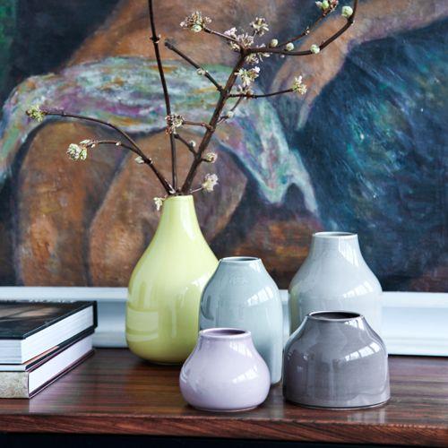 DESIGNDELICATESSEN - Kähler - Botanica vase - Mini botanica vaser rosa