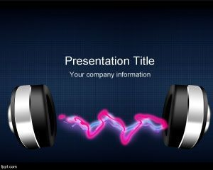 Radio music powerpoint template education pinterest radios and radio music powerpoint template toneelgroepblik Image collections