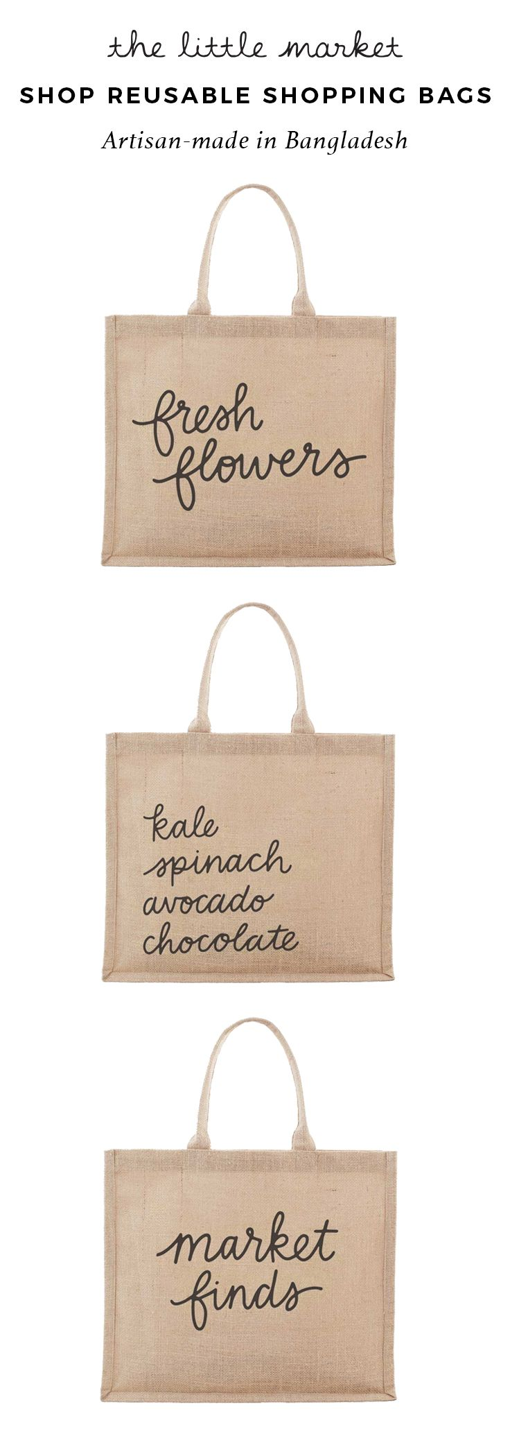 Download With These Bags You Won T Need A Reminder To Bring Your Reusable Bag To The Market These Handmade B Jute Shopping Bags Reusable Bags Design Bags Diy Handbags