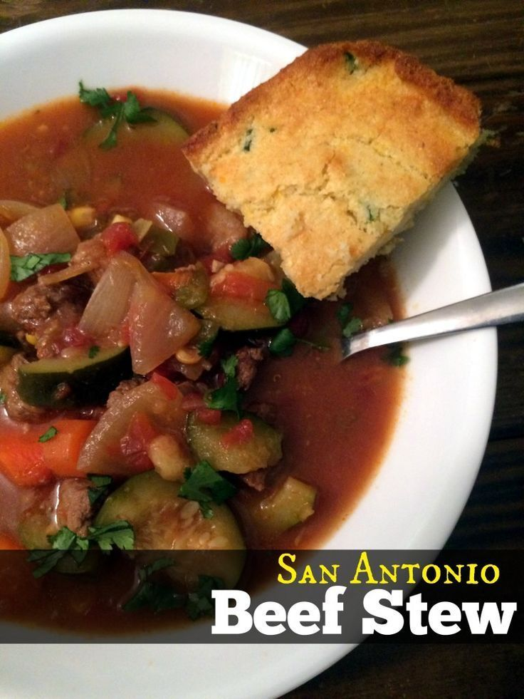 San Antonio Beef Stew (Stove Top & Slow Cooker Directions) | Aunt Bee's Recipes