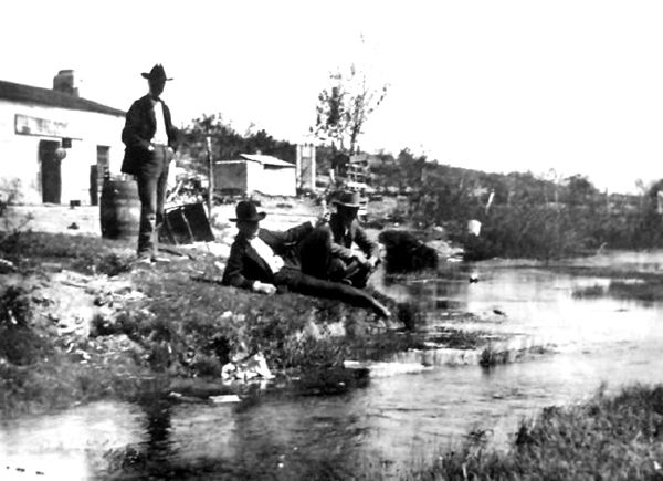 Comanche Springs At Fort Stockton Long Before They Built The Swimming Pool Around It A Popular