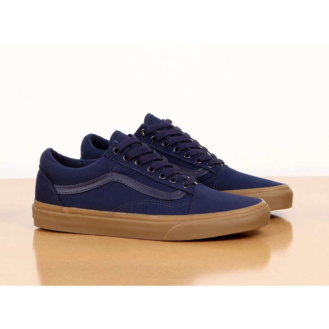 Vans Old Skool Canvas Gum Eclipse Blue https://www.popname.cz