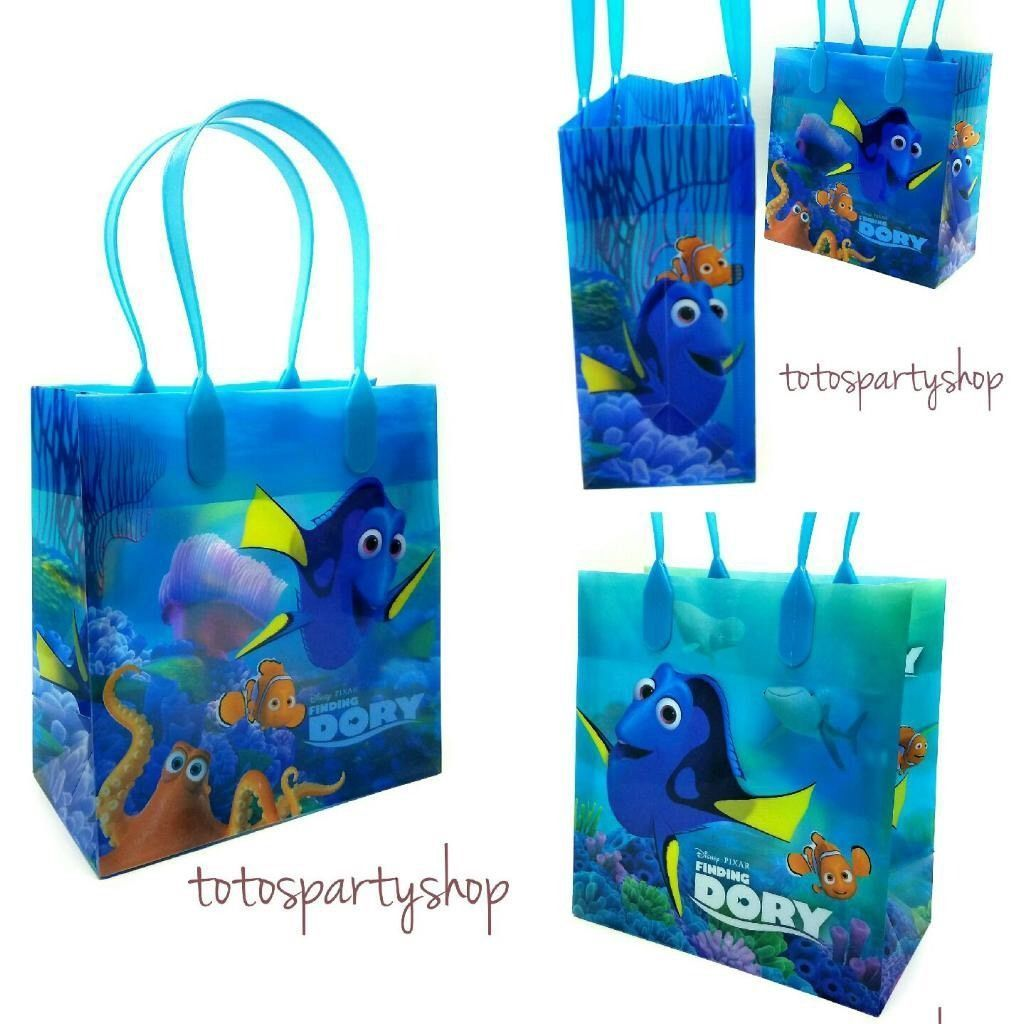 6 x Finding Dory Nemo Birthday Party Favor Favour Loot Bags