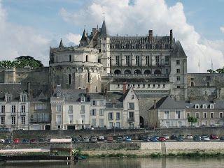 Viajes Ocio Y Placer Amboise En El Valle Francés Del Loira Castillos Del Loira Valle Del Loire Francia Chateau