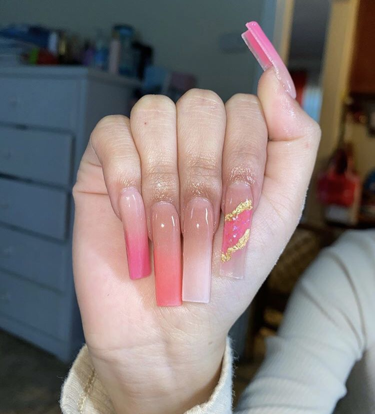 Inspo design by as ALWAYS in 2021   Simple acrylic nails