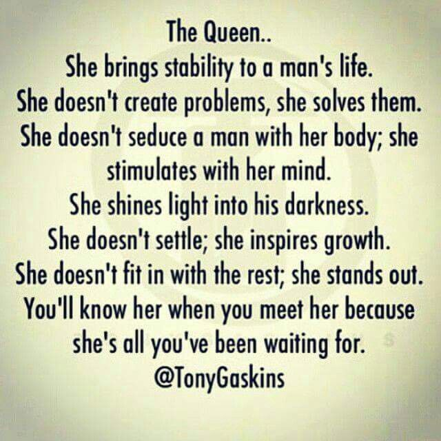 Queen … | Queen quotes, Words, Inspirational quotes