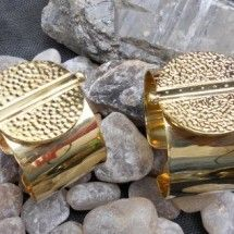 Gorgeous bracelets...which were once bombshells #jewellery #ecochic
