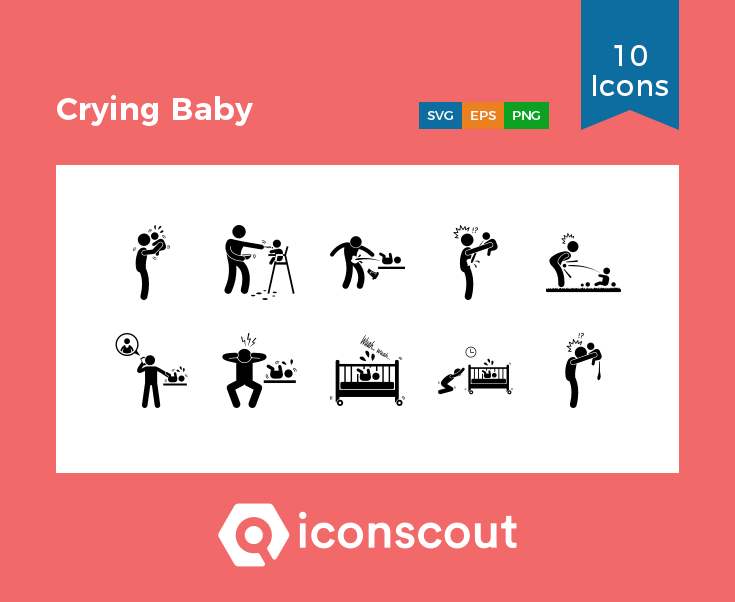 Download Crying Baby Icon Pack Available In Svg Png Eps Ai Icon Fonts Baby Crying Baby Icon Icon Pack