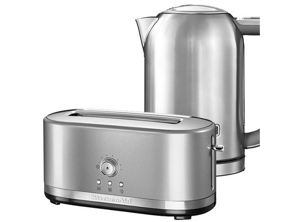 Kitchenaid contour silver long slot manual toaster and