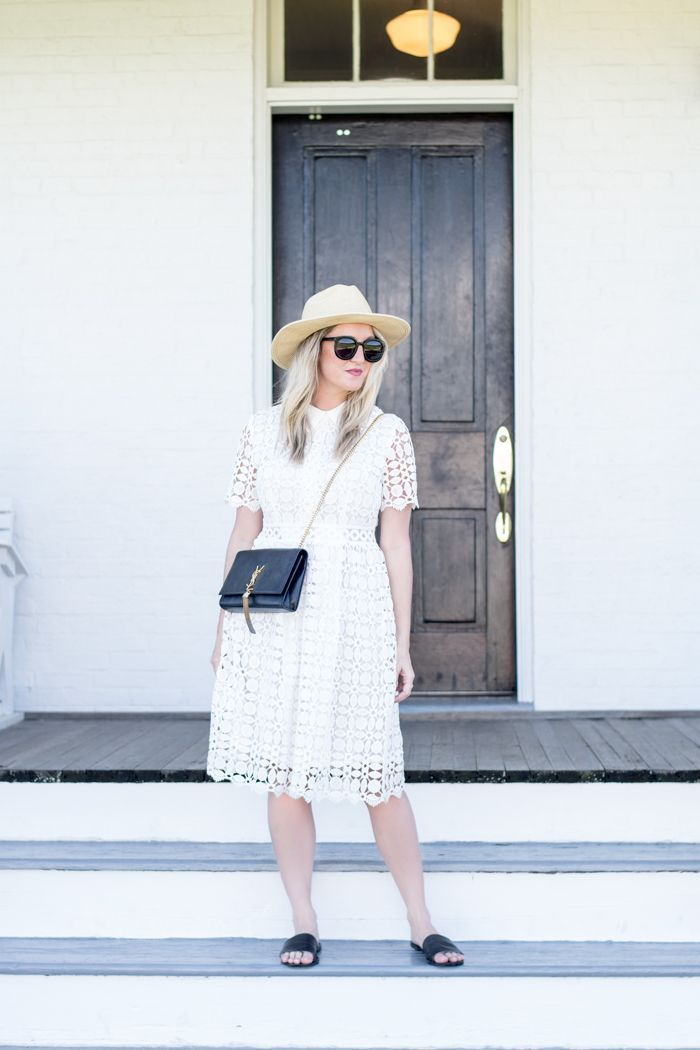 White midi! Washington Dc Fashion 41edcade0