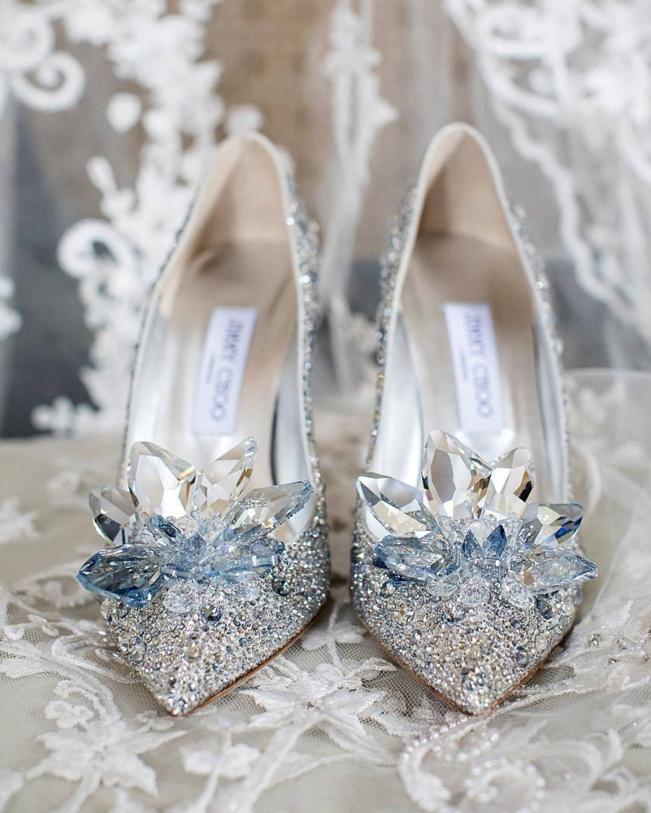10 Ways You Know You Re A Disney Bride Sparkly Wedding Shoes