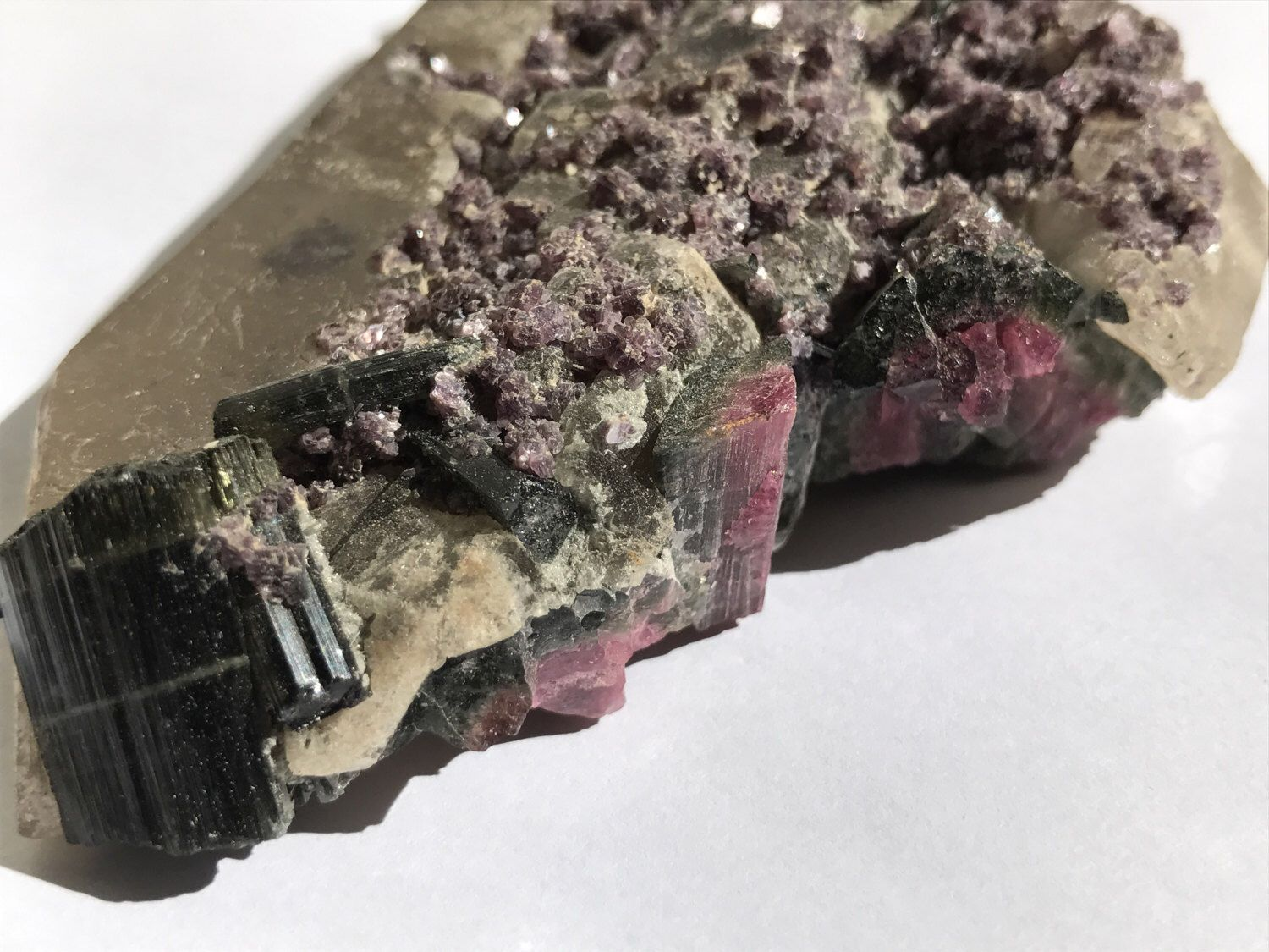 A personal favorite from my Etsy shop https://www.etsy.com/listing/511379675/watermelon-tourmaline-lepidolite-on