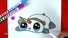 comment dessiner une licorne kawaii dessin youtube - Comment Dessiner Une Licorne